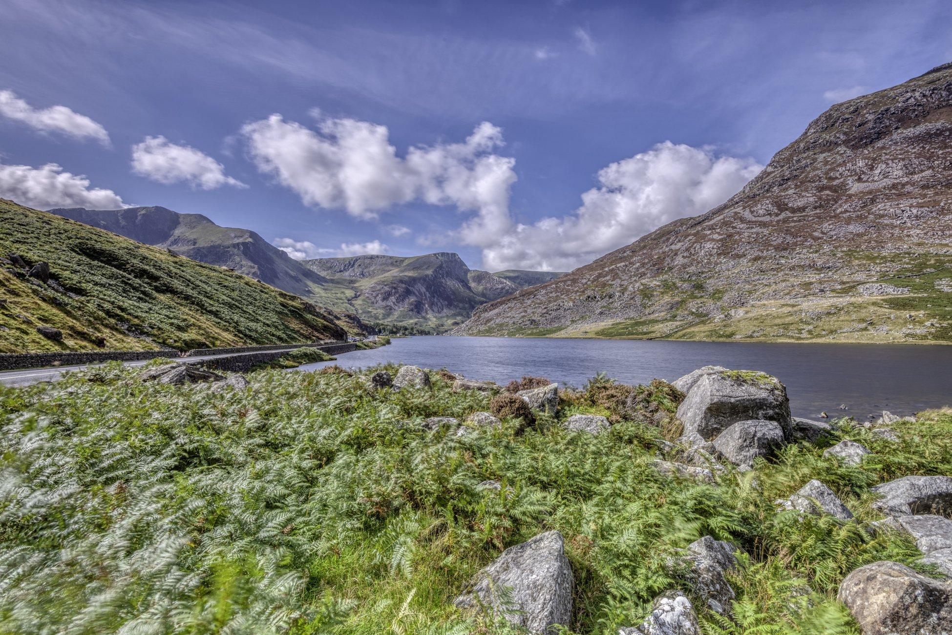 Welsh lake scene