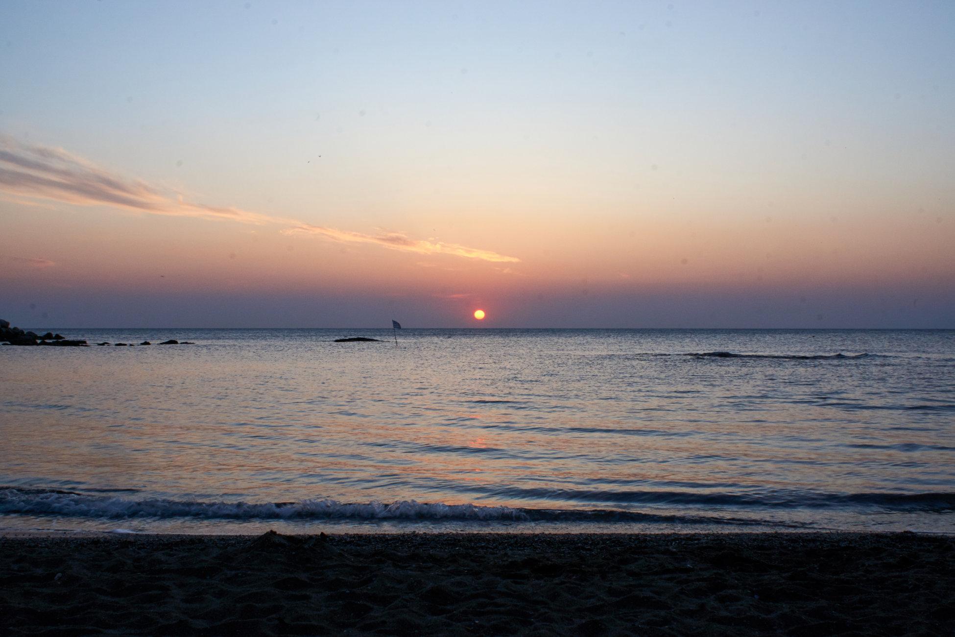 Sunrise on Rhodes