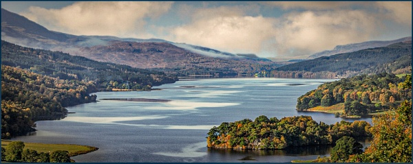 Queens View Perthshire Scotland by deejay10