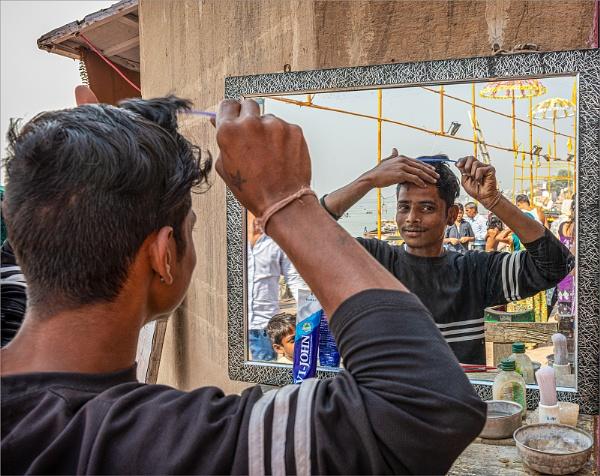 The Fonz of Varanasi by PhilScot