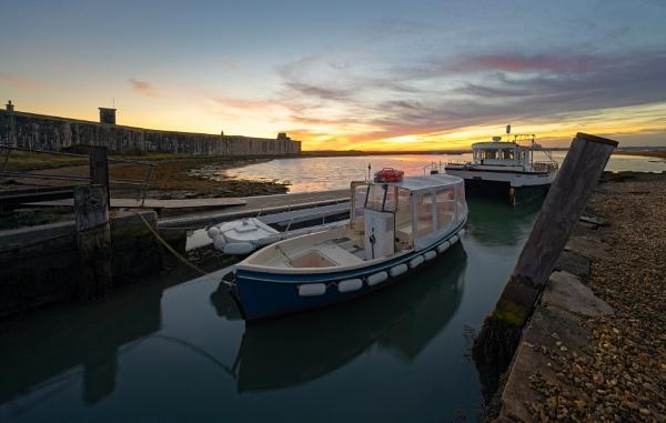 Hurst Castle Ferry. by Paintman