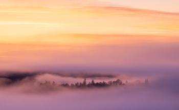 Mist over Callander