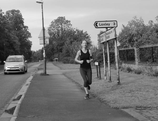 Lone runner by happysnapperman