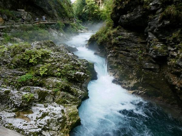 Vintgar Gorge,Slovenia by davevee