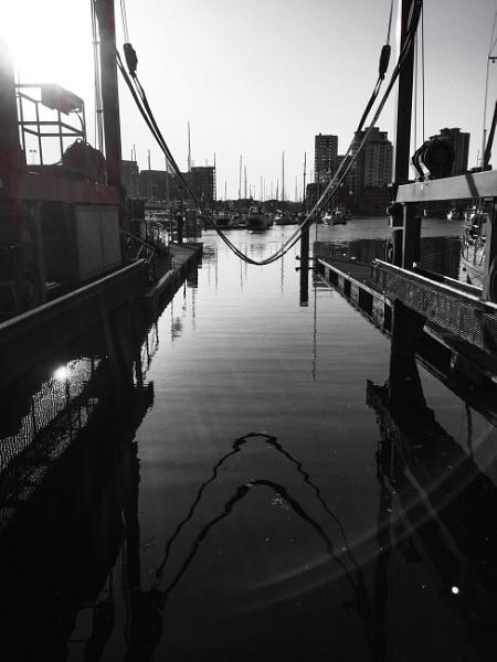 Marina Reflections by OneBigContradiction