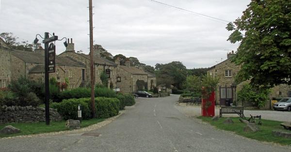 Main Street, Emmerdale by Hurstbourne