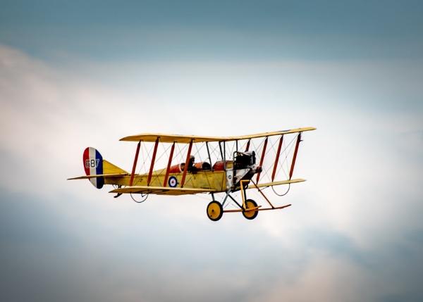 Biplane by Stevefz