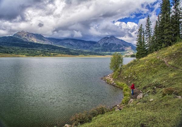 Fishing William\'s Reservoir by jbsaladino