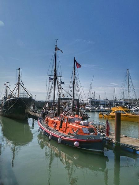 Lowestoft Harbour by StevenBest
