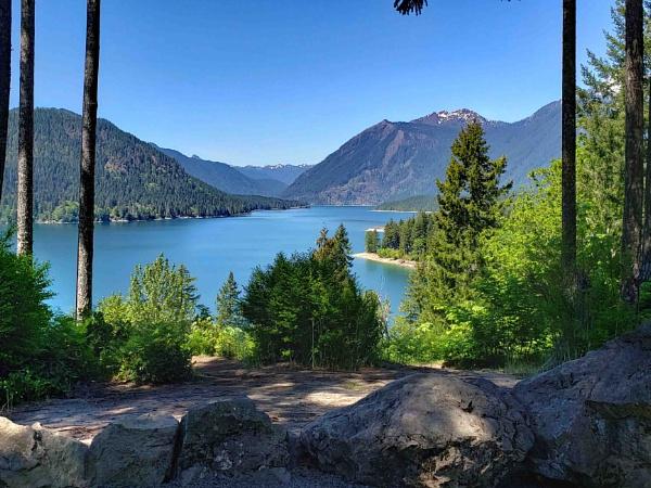 Lake Cushman, Mason County, Washington state by kitkat4u