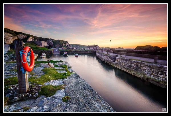 """Kaleidoscope Sky at the Harbour\"" by DavidLaverty"