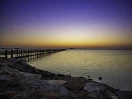 Sunset at Weaver Park Pier (Dunedin, FL)