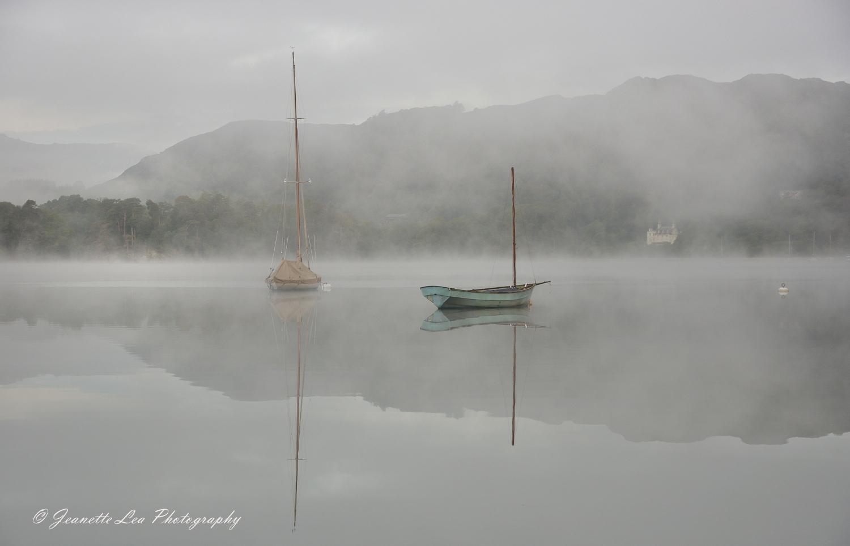 Boats amongst The Mist