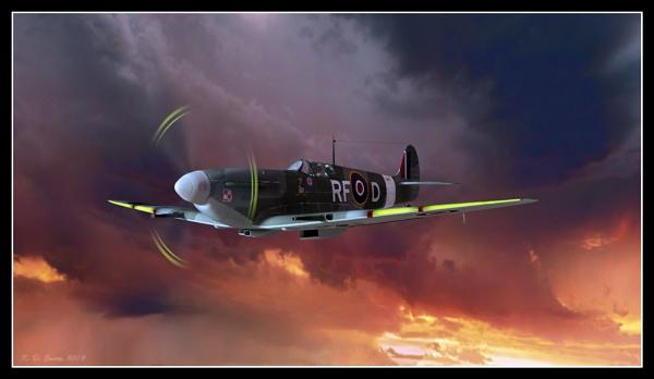 Jolly ole spitfire. by KDC