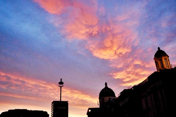 Pastel sky by KrazyKA