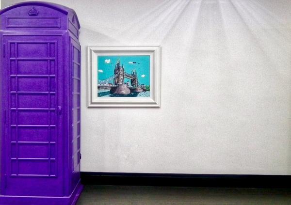 Funky phone box  by KrazyKA