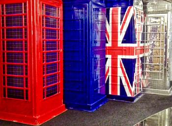 Funky phone boxes