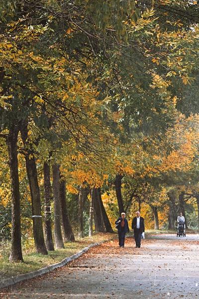 Autumn walk by LaoCe