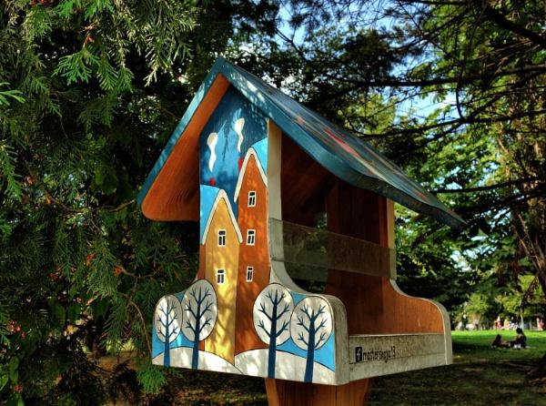 house (hopper) feeder * by leo_nid