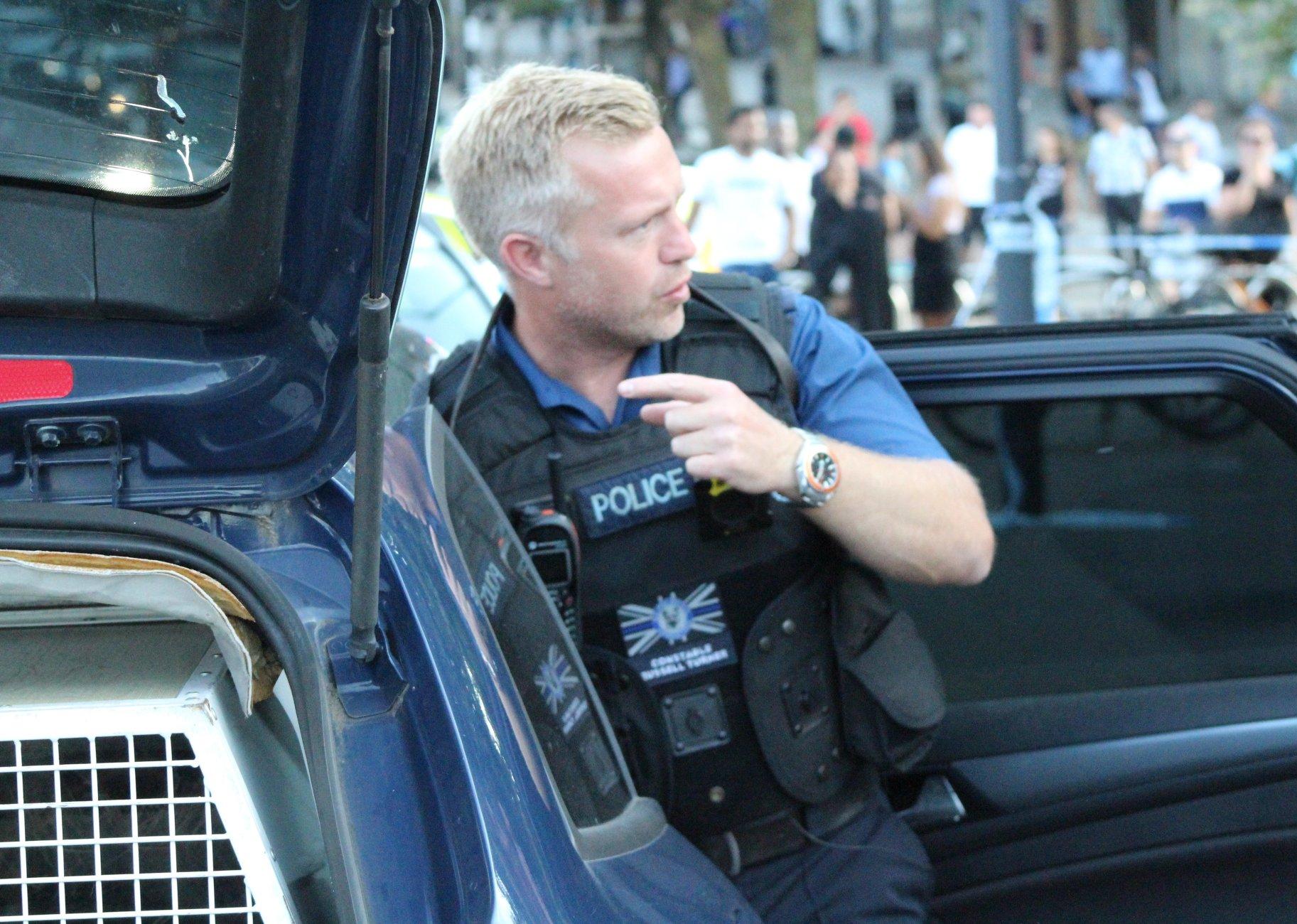 Police work (sometimes)