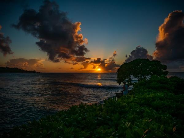 Tropical Sunset by HoiPolloi