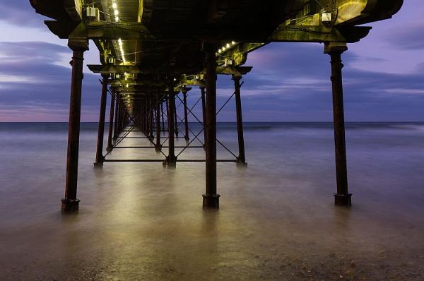 Illuminated Pier 2 by martin.w