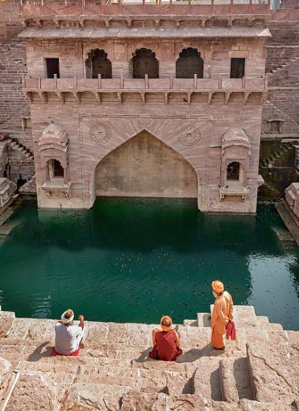 Jodhpur stepwell by PhilScot