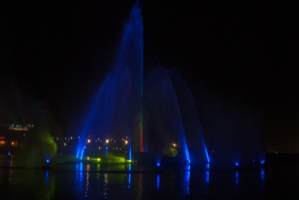 Musical fountain light show by akhtarkhan