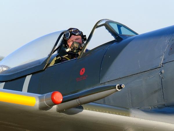 Spitfire Pilkot. by paulbroad