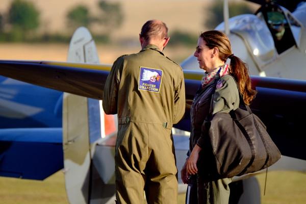 Spitfire Pilot by paulbroad