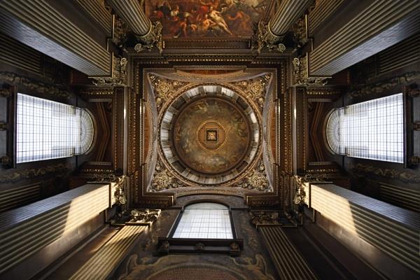 The Vestibule Ceiling by peterellison