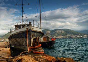 Boat at Toulon