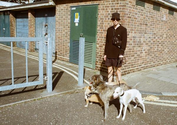 Walkin\' the dawgs by davetac