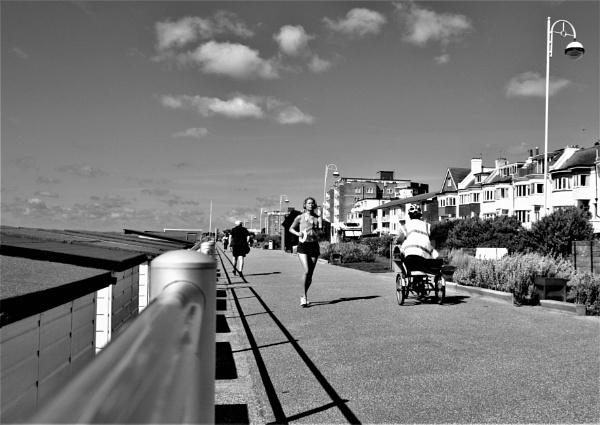 Mono Saturday Shadows by mike9005