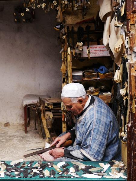 Moroccan craftsman ... by chrisdunham