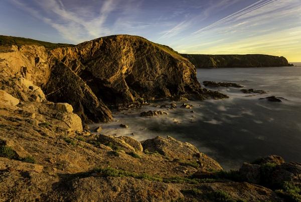 Plemont Headland Sunset by happysnapper
