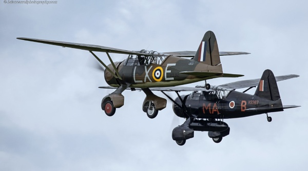 Westland Lysanders at Shuttleworth Air show, Old Warden, Bedfordshire by brian17302