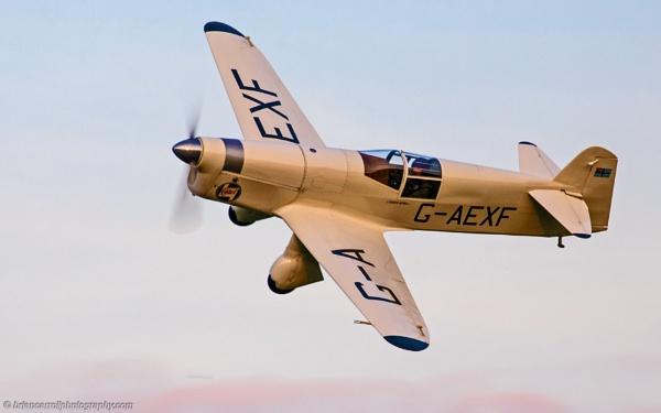 1933 Percival Mew Gull Air Racer by brian17302