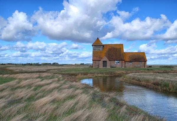 Thomas a\'beckett Church Romney Marsh by RSFphoto