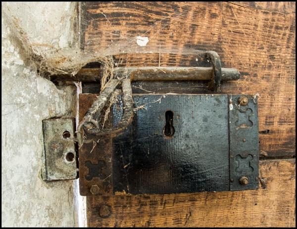 Ancient Door Lock by bwlchmawr