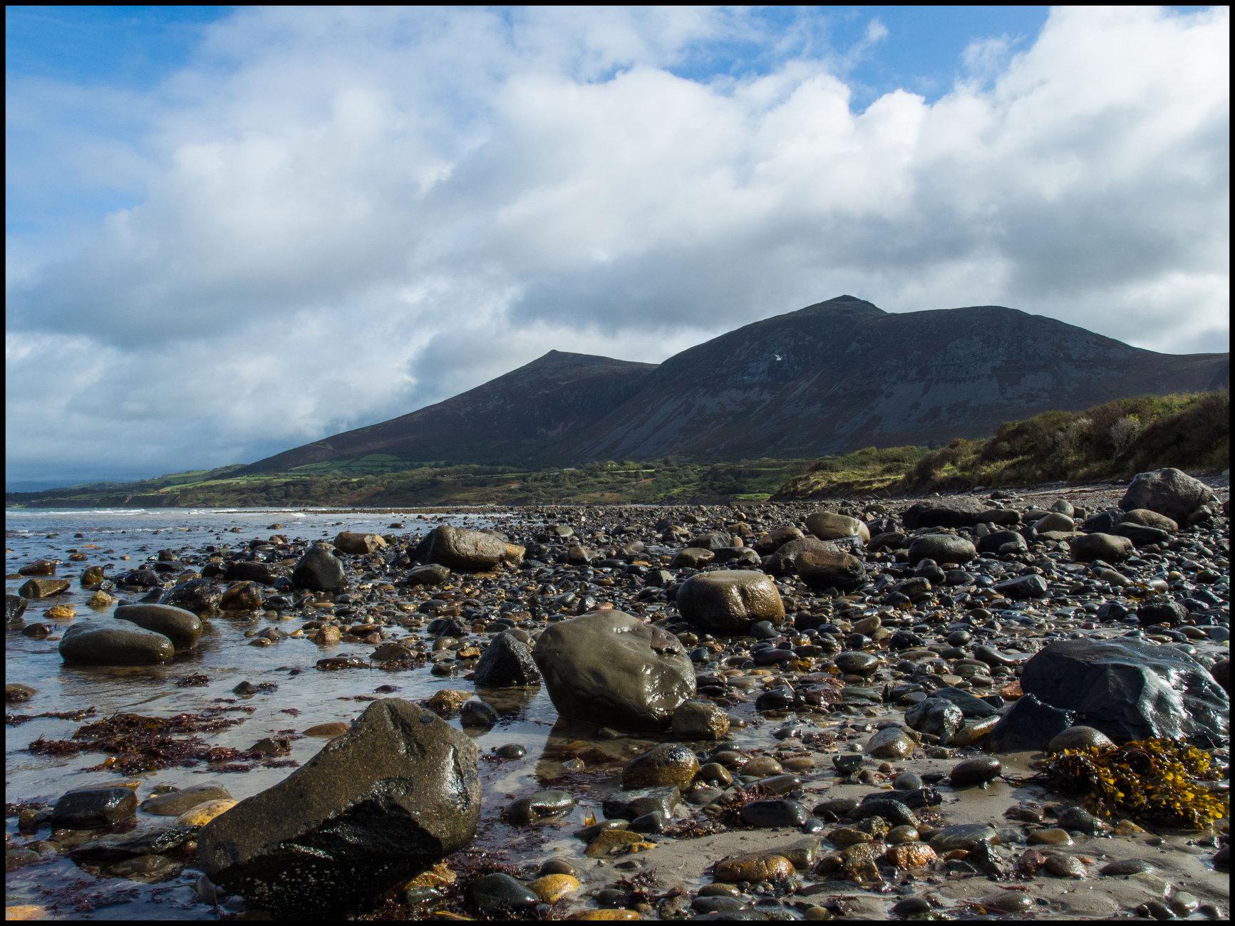 Beach Scene North Wales