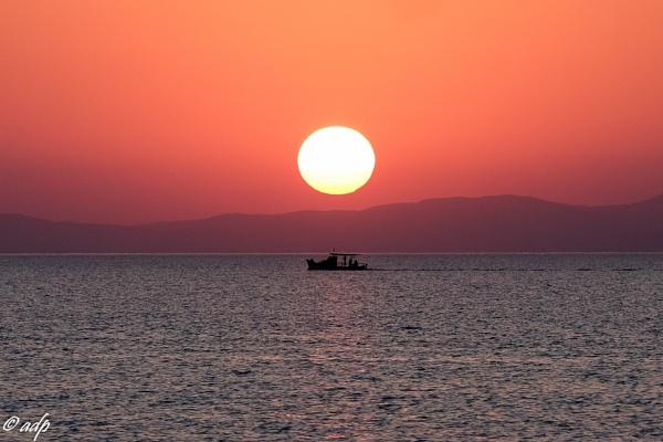 Milina sunset by  profadp