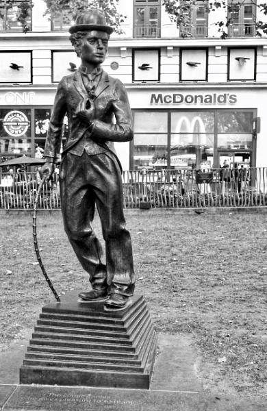 Charlie Chaplin by KrazyKA