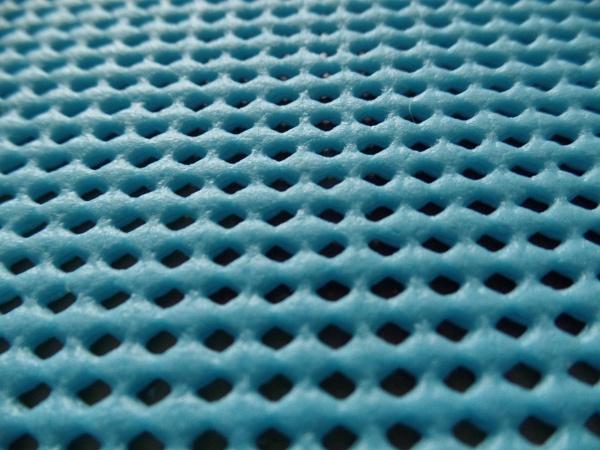 Anti slip mat holes macro shot by pauche