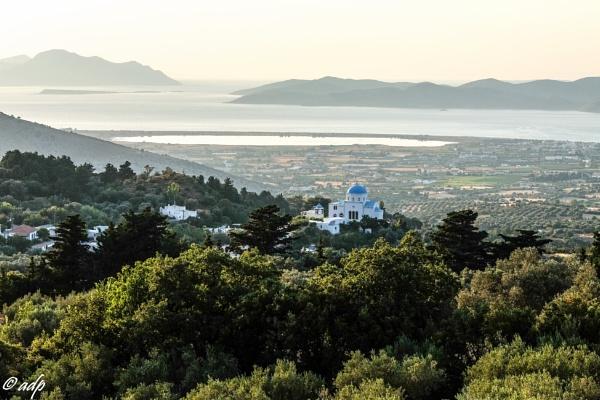 View from Zia, Kos by Anastazy