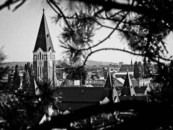 Church in Husovice 1 by konig