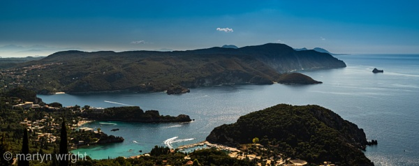 Corfu seafront by mmart