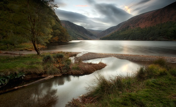 Autumn Evening in Wicklow, Ireland. by bombolini