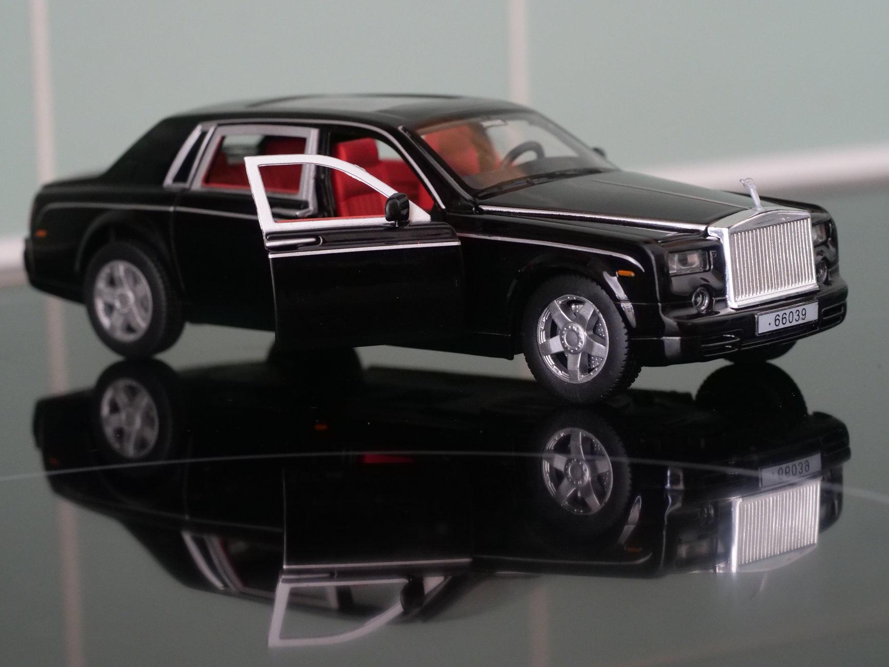 Model Rolls Royce