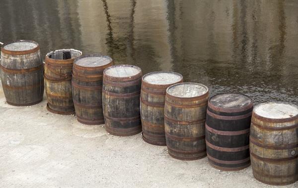 Barrels at Charleston by Irishkate